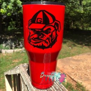 Custom GA Bulldogs Tumbler